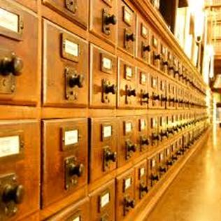 Card Catalog Archive