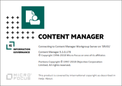 Content Manager Information Governance