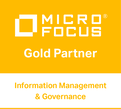 Micro Focus, Gold Partner, Information Management & Governance